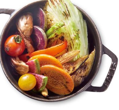 旬焼き野菜盛り合わせ
