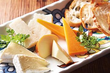 4種チーズ盛り合せ