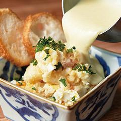 チーズフォンデュ風ポテトサラダ